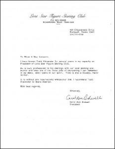Bidwell Letter