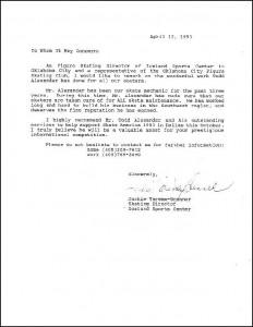 Brenner Letter
